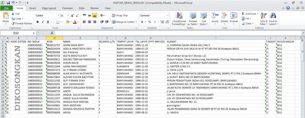 Cara Mudah Unggah Data Siswa di Simpatika Secara Kolektif