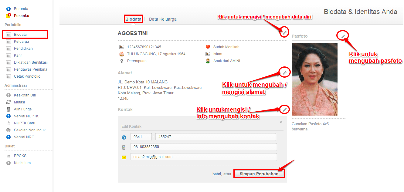 biodata-edit