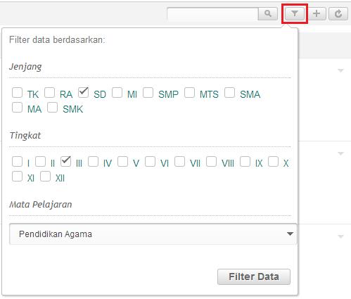 Filter Data