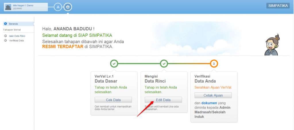 edit data rinci