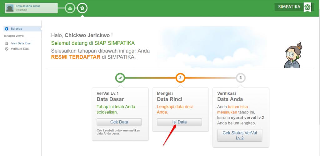 klik-isi-data